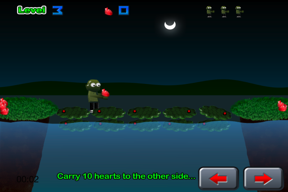 Screenshot iZombie Heart Game HD